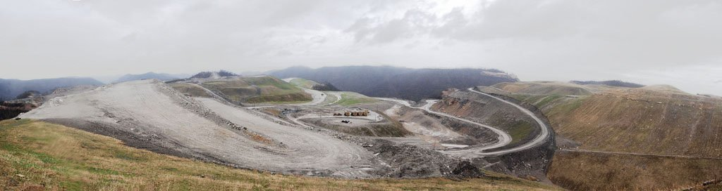Kayford mountaintop removal site