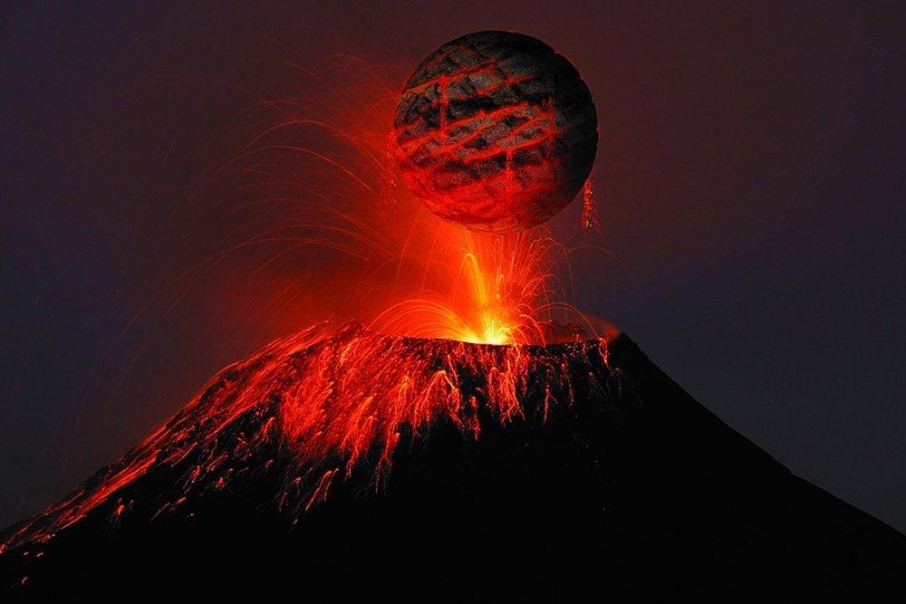 valcano lava