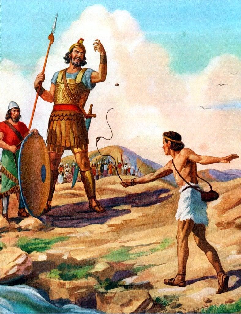 David and the Goliath
