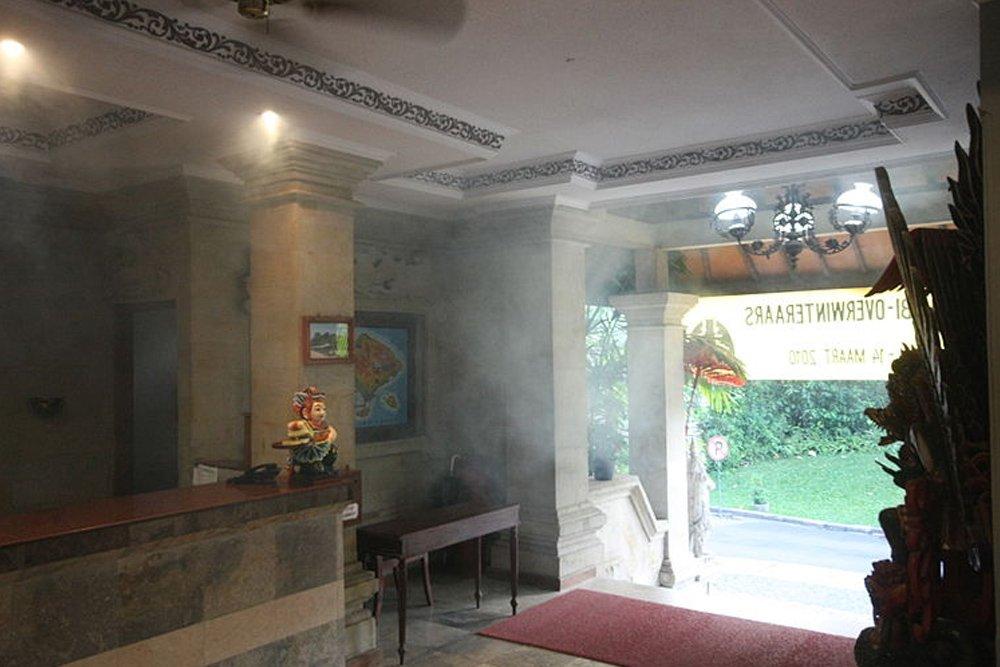 Fumigating Vila Shanti