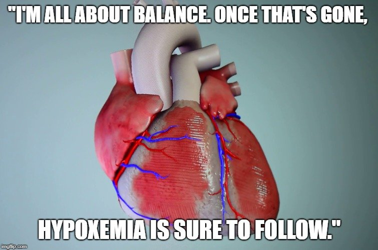 hypoxemia is sure to follow meme