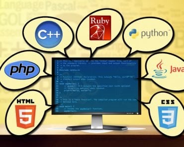 programming language, php,html,c++,java,ruby