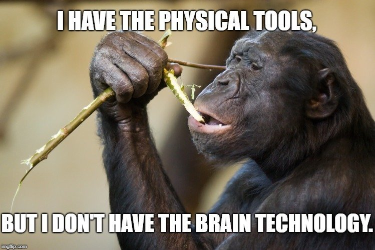 I have the physical tools meme