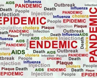 epidemic, endemic, pandemic