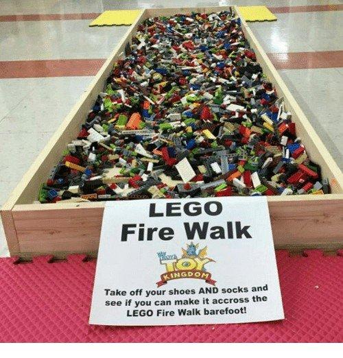 lego-fire-walk-kingdom-take-off-your-shoes-and-socks
