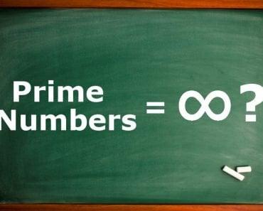prime number, infinite