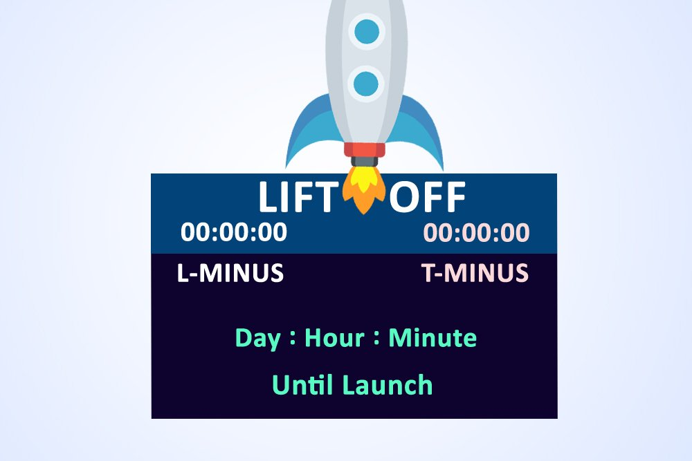 rocket launch time