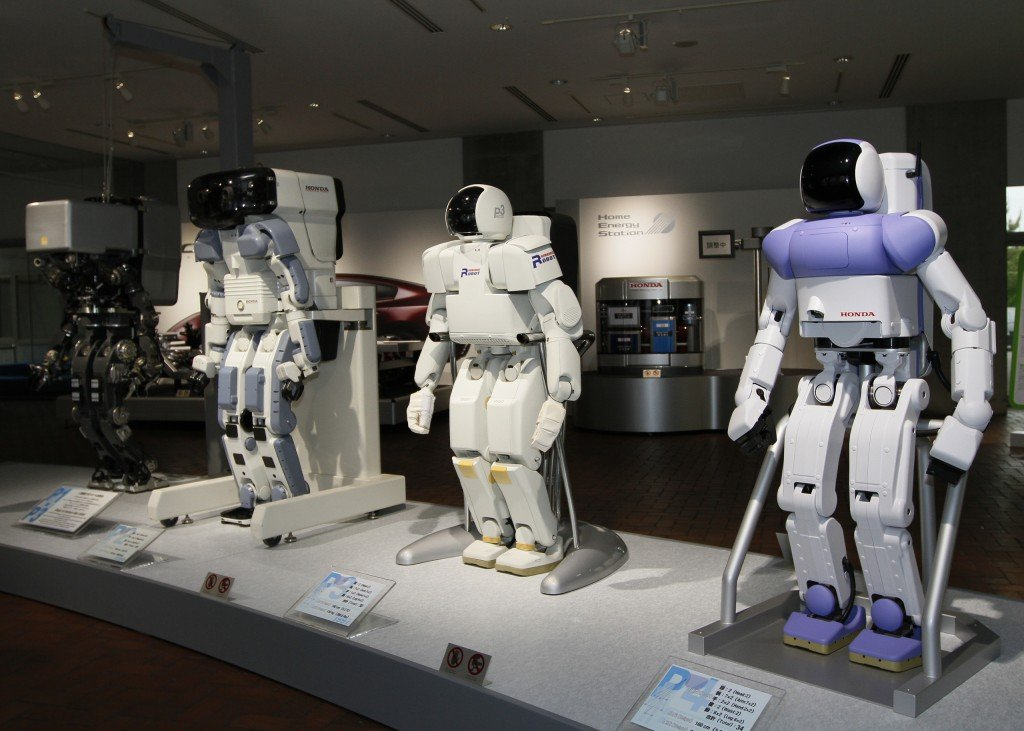 Honda_prototype_robots_Honda_Collection_Hall