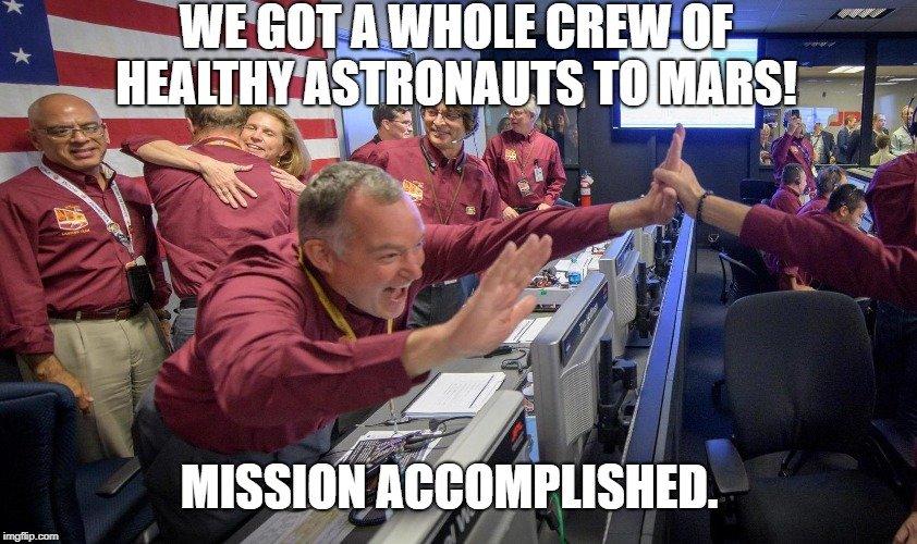 Mission Accomplished meme