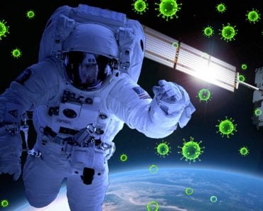 astronut in space immuny system