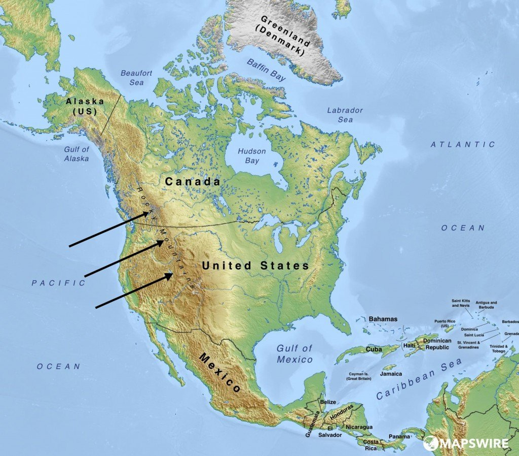 Picture of: Why Is The West Coast Of The Usa Warmer Than The East Coast
