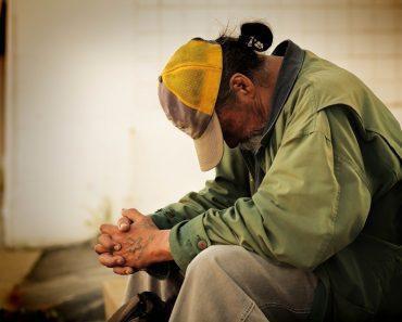 Poor poverty homeless sad
