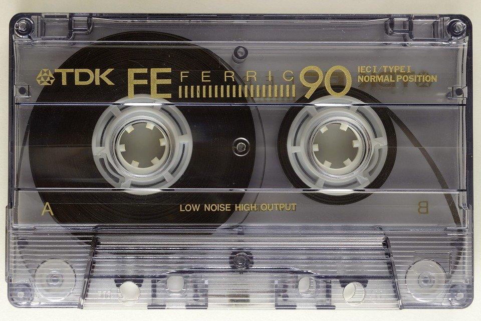Audio Magnetic Tape Magnetic Foil Music Cassette