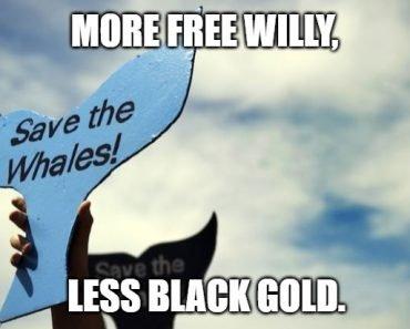 Less Black Gold meme