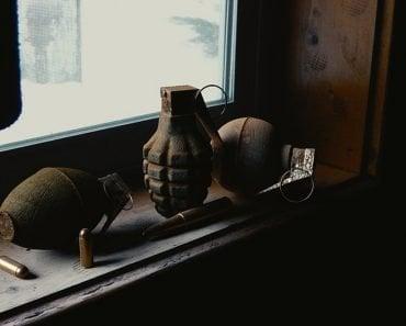 grenade, bullets
