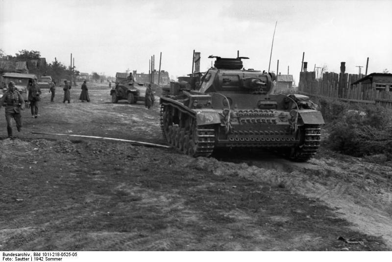 Russland-Süd (Don, Stalingrad), Panzer III