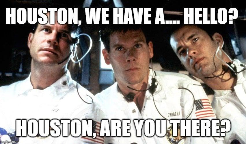 Houston, we have a.... hello meme