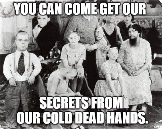 secrets from our cold dead hands meme
