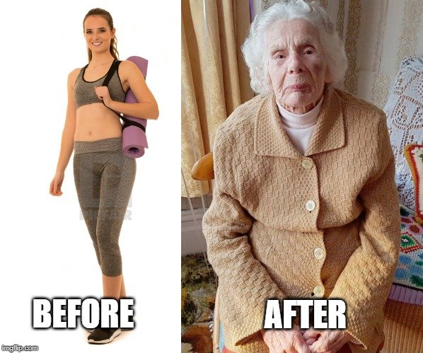 before and after lady