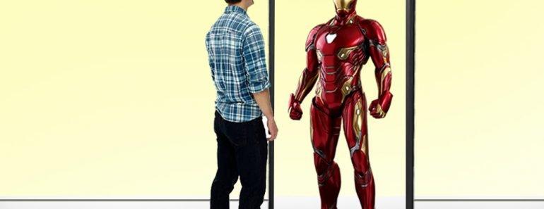mirror effect iron man