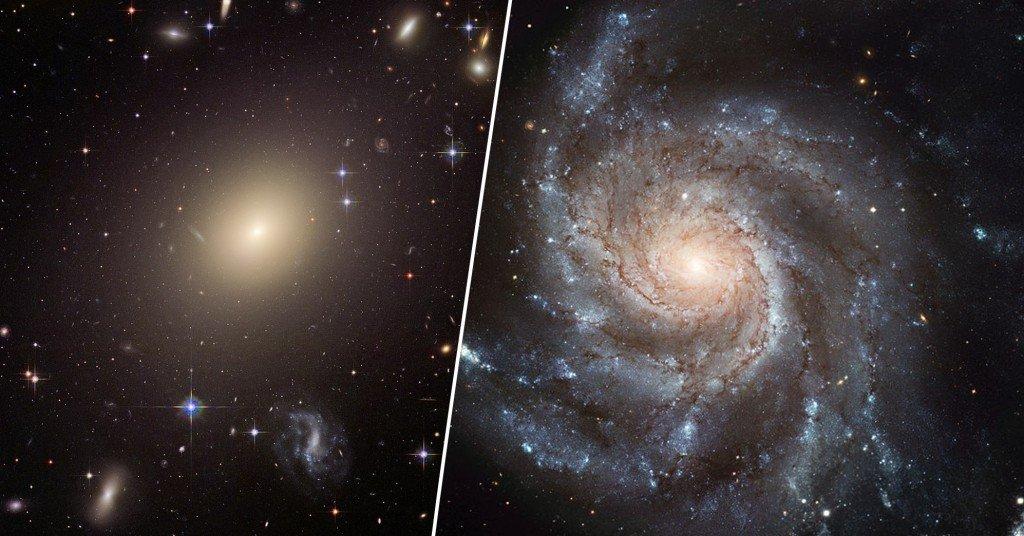 spindle galaxy and pinwheel galaxy