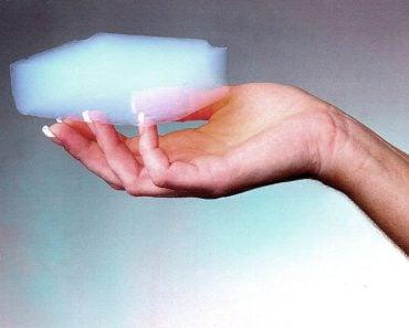 Aerogel hand