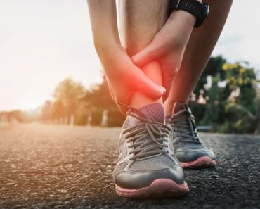 Ankle twist sprain accident in sport exercise running jogging.sprain or cramp Overtrained injured person when training exercising or running outdoors. - Image(By mansong suttakarn)s