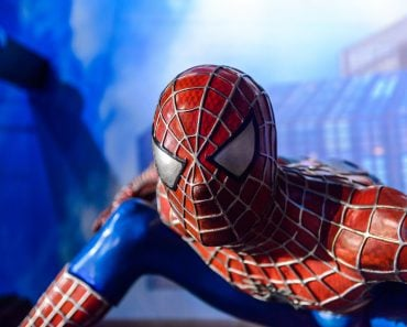 Spiderman in the Madame Tussauds museum in Amsterda( Anton_Ivanov)s