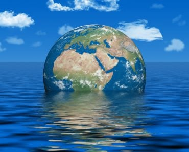 Earth under water - earth texture by NASA.gov - Illustration( Juergen Faelchle)s