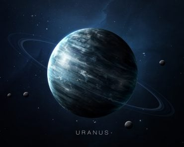 Uranus - High resolution 3D images presents planets of the solar system. This image elements furnished by NASA. - Image( Vadim Sadovski)s