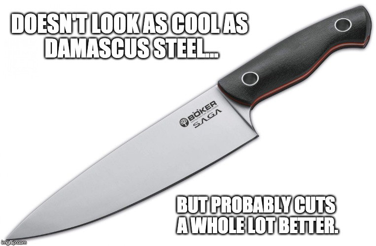 What Is Damascus Steel? » Science ABC