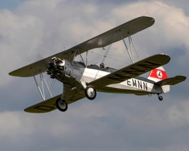 German two-seat biplane, carries out a display at Old Warden during the Shuttleworth Military Airshow. - Image(Kev Gregory)s