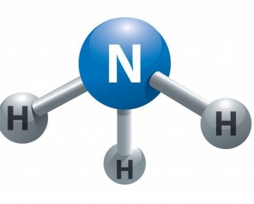 Molecule of ammonia - Vector(NoPainNoGain)s