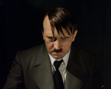 OCT 1, 2017 Adolf Hitler, the leader of the Nazi Party who initiated World War II in Europe, Madame Tussauds Berlin wax museum. - Image( Anton_Ivanov)s