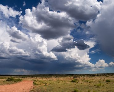 Thunderstorm clouds - Image( John D Sirlin)S