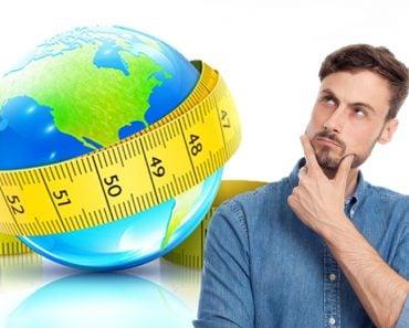 earth round measurement