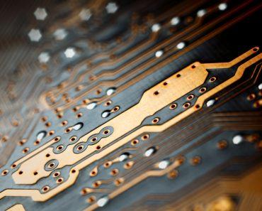 Bokeh electronic circuit close up computer - Image(DmitrySteshenko)s