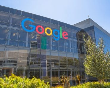 Mountain View, California, USA - August 15, 2016 Google sign on one of the Google buildings( Benny Marty)s