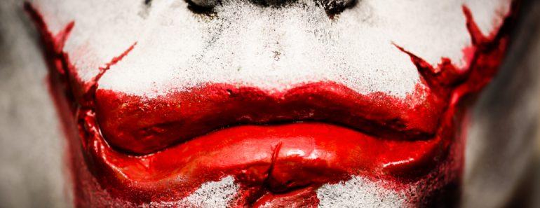 The Joker' in the 2008 Batman movie 'The Dark Knight( Bottle Top Photography)s