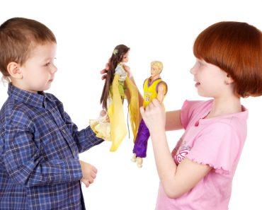 The brother and sister play dolls(sa2324)S