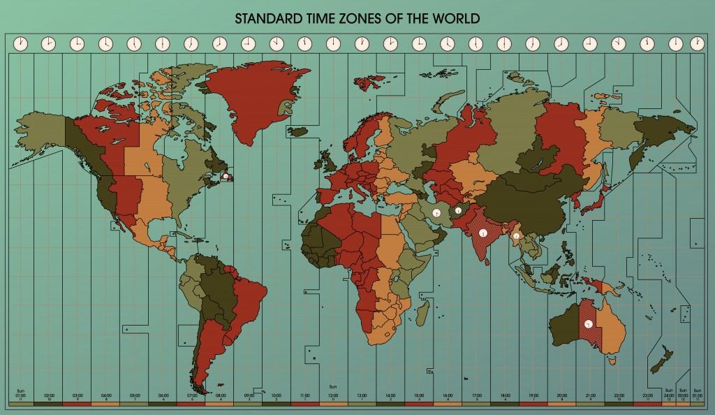 Utc zulu time conversion chart