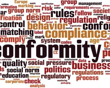 Conformity word cloud concept. Collage made of words about conformity(Boris15)s
