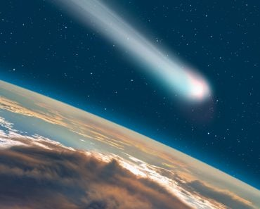 Comet on the space(muratart)S