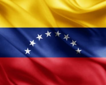 Venezuela flag of silk(patrice6000)s