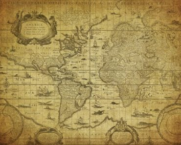 vintage map of the world 1635(javarman)s