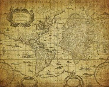vintage map of the world 1635(javarman)s