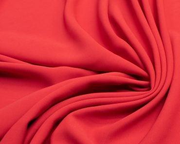 Fabric viscose (rayon). Color red-orange(DiPetre)s