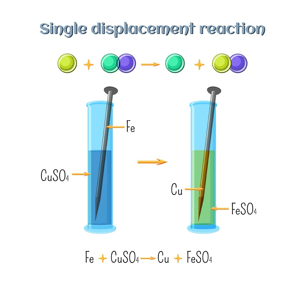 Single Replacement Reaction Vs Double Replacement Reaction Differences Examples