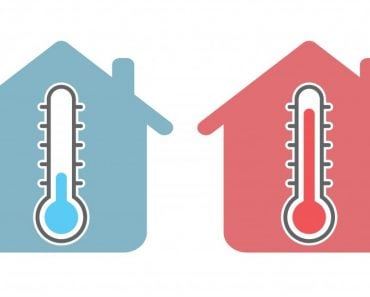 Thermometer icon with home sign(Solar (1)
