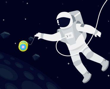yo yo in space